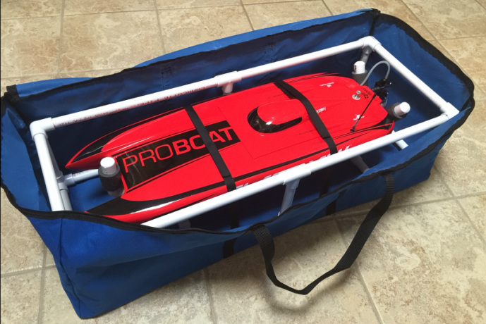 RC Boat Carrier / RC Boat Bag by www.AceWingCarrier.com