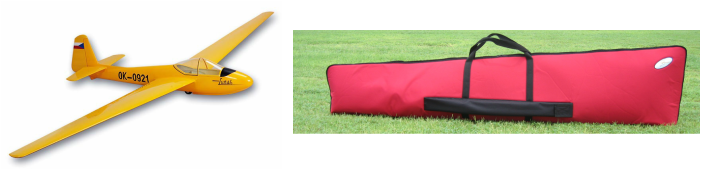RC Scale Glider Bag by www.AceWingCarrier.com
