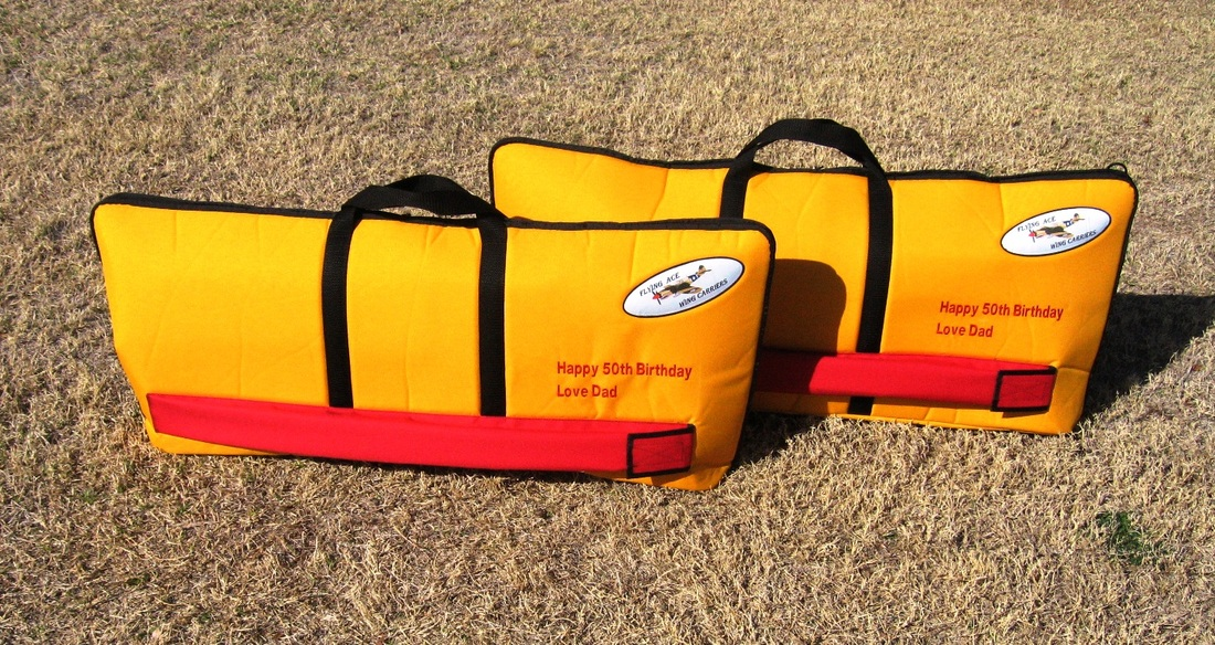 RC Biplane Wing Bags by Ace Wing Carrier
